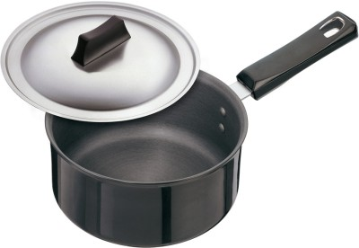 Hawkins Futura Hard Anodized with Lid Pan 18 cm diameter(Hard Anodised, Non-stick)  available at flipkart for Rs.985