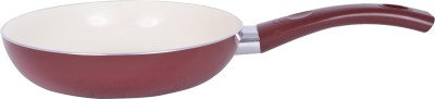Alda Induction Friendly Ceramic Coated Fry Pan with Lid Pan 20 cm diameter(Ceramic, Non-stick)  available at flipkart for Rs.671