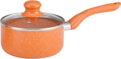 Wonderchef Tangerine 16cm Sauce Pan with Lid Pan 16 cm diameter(Aluminium)  available at flipkart for Rs.766