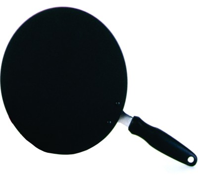 Kitchen Chef Concave Tawa 25 cm diameter(Aluminium, Glass, Non-stick) at flipkart