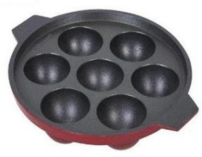 Divinext 7cavity Nonstick Appam Patra(Aluminium, Non-stick)  available at flipkart for Rs.319