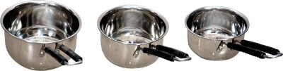 Corporate Overseas Sauce Pan 14 cm diameter Steel, Induction Bottom Corporate Overseas Pans