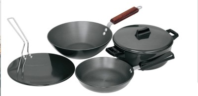 Hawkins Hard Anodised Cookware Set Tawa, Pan Set(Hard Anodised, Non-stick)  available at flipkart for Rs.3669