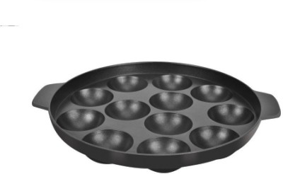 Tosaa Non-Stick 12 Cavity Appam Patra(Aluminium, Non-stick)  available at flipkart for Rs.319