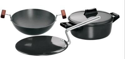 Hawkins Hard Anodised Cookware Set Kadhai 1.5 L(Hard Anodised, Non-stick)  available at flipkart for Rs.2124