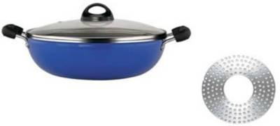 Premier-Induction-Bottom-Non-Stick-Kadai-with-Glass-Lid-(24-cm)