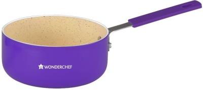 Wonderchef Piccolo Sauce Pan 14cm Purple Pan 14 cm diameter(Aluminium)  available at flipkart for Rs.490