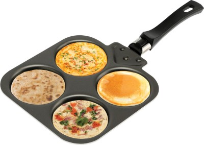 Nirlep Mini Snack Maker Pancake Pan 25 cm diameter Aluminium, Non stick Nirlep Pans
