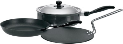Hawkins Futura Cookware Set Tawa, Pan Set(Aluminium, Non-stick)  available at flipkart for Rs.2777