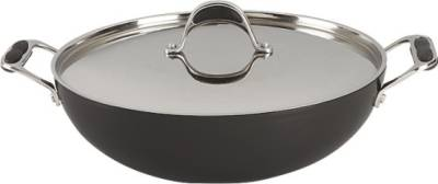 Alda-CWHAWOKL30-Wok-with-Stainless-Steel-Lid-Kadhai