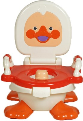 Kiddies Express Baby Closestool, Urinal, Duck Potty Seat(Multicolor)
