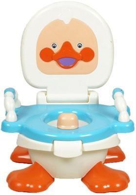 Kiddies Express Baby Closestool, Urinal, Duck Potty Seat(Blue)