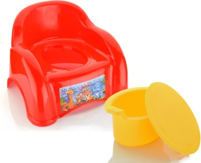 Sukhson India BABY ABCD Potty Seat Multicolor