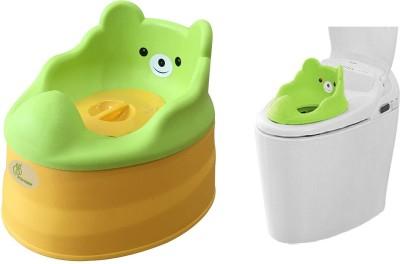 R for Rabbit Tiny Tots Potty Box(Green)