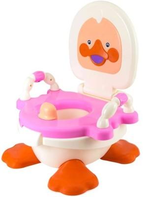 Kiddies Express Panda Duck Baby Traning Potty Seat(Pink)