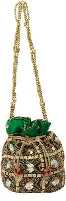 Naughty Gift Gallery Potli Potli(Green)