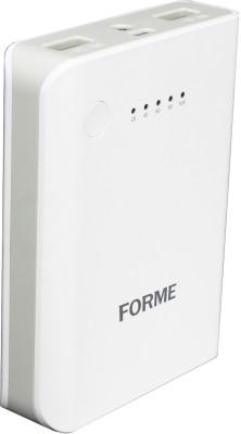 Forme 5200 mAh Power Bank (CU 515, 5200 mAh )(White, Lithium-ion)