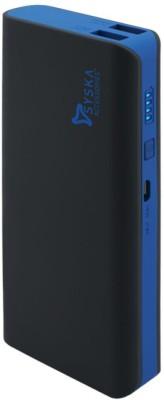 Syska 11000 mAh Power Bank (X110)(Black, Blue, Lithium-ion)