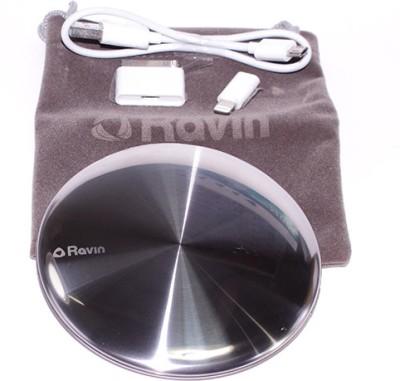 Ravin 3500 mAh Power Bank Silver, Lithium Polymer Ravin Power Banks