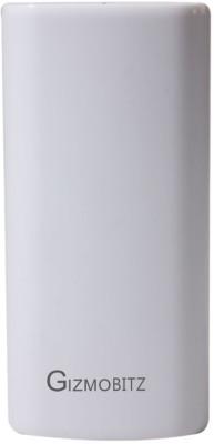 GIZMOBITZ 5200 mAh Power Bank White, Lithium ion GIZMOBITZ Power Banks