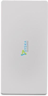 Syska Power Slice 50 Power Bank, 5000mAh (White)