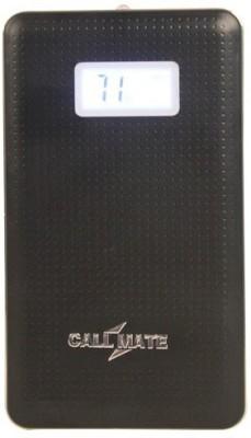 Callmate 8000 mAh Power Bank  Power bank, Sam LCD  Black, Lithium Polymer