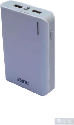 Zync 10400 mAh Power Bank White, Lithium ion Zync Power Banks