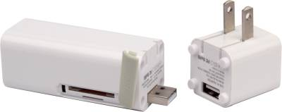 iFans EL-PB-17 3000mAh 3 in 1 Power Bank(AC Adapter with SD/TF Card Reader) Image