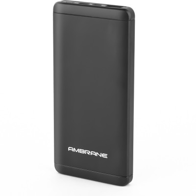 Ambrane Plush PQ-800 8000mAh Power Bank (Black)