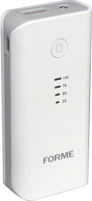 Forme 10400 mAh Power Bank (CU-788, 10400 mAh )(White, Lithium-ion)