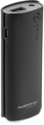 Ambrane P-444 4000mAh Power Bank (Black)