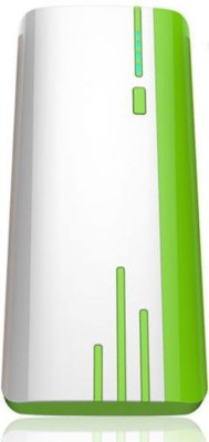 Ovaest 11000 mAh Power Bank White, Green, Lithium ion