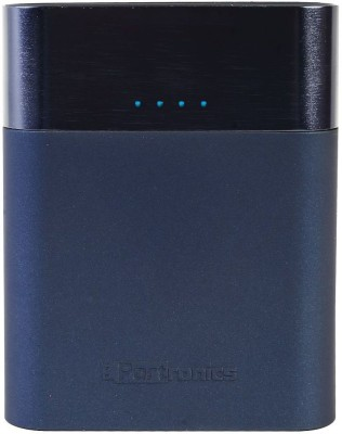 Portronics Velocity Plus Power Bank, 13400 mAh (Blue)