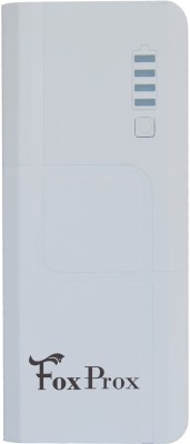 FoxProx 13000 mAh Power Bank (FX1311, FoxProxFX1311)(White, Lithium-ion) at flipkart