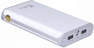 FoxProx 12000 mAh Power Bank (Fx12k, F)(White, Lithium-ion) at flipkart