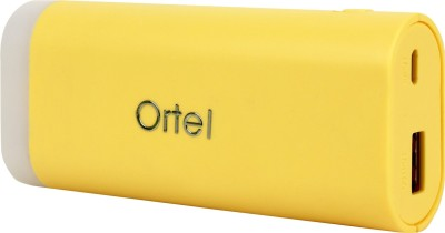 Ortel 5600 mAh Power Bank Multicolor, Lithium Polymer Ortel Power Banks