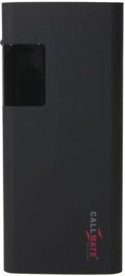Callmate 15000 mAh Power Bank Black, Lithium ion