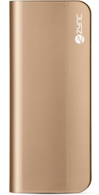 Zync 10400 mAh Power Bank (PB999, Elegant)(Gold, Lithium-ion) at flipkart