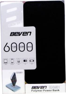 Beven-6000mAh-Ultra-Slim-Power-Bank