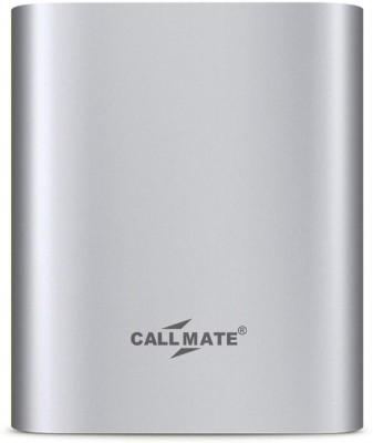 Callmate 10400 mAh Power Bank Silver, Lithium ion Callmate Power Banks