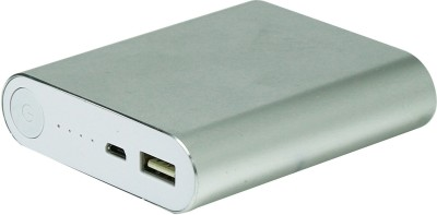 Acromax 10400 mAh Power Bank  Am 104, super fast charger  Silver, Lithium ion