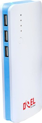 Doel 13000 mAh Power Bank (DI060, USB Portable Power Charger)(Blue, Lithium-ion)