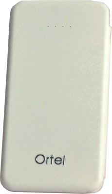 Ortel 3000 mAh Power Bank White, Lithium ion Ortel Power Banks