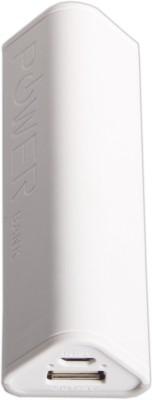 Callmate 2800 mAh Power Bank  Gecko  White, Lithium ion