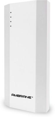 Ambrane P-1111 10000mAH Power Bank (White)