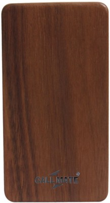 Callmate 8000 mAh Power Bank (Wooden, 802)(Brown, Lithium Polymer) at flipkart