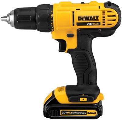 Dewalt 18V (Li-Ion) Cordless Screwdriver DCD771C2 Pistol Grip Drill(13 mm Chuck Size) at flipkart