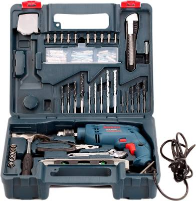 Bosch GSB 500 RE Power & Hand Tool Kit