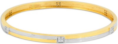 P.N.Gadgil Jewellers Queen Bee Yellow Gold 18kt Diamond Bangle(Yellow Gold Plated) at flipkart