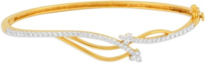 P.N.Gadgil Jewellers Marquise Yellow Gold 18kt Diamond Bracelet(Yellow Gold Plated) at flipkart